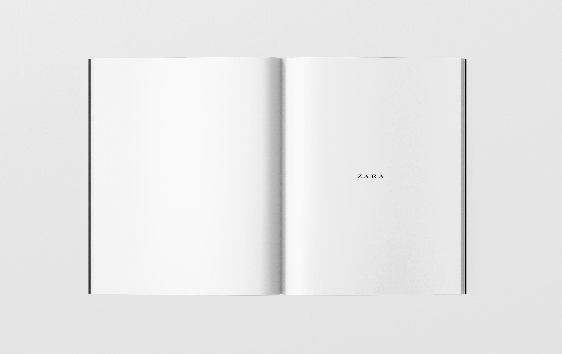 editorial design Zara
